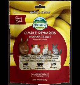 OXBOW Oxbow SimpleRewards Banana Treat 1oz