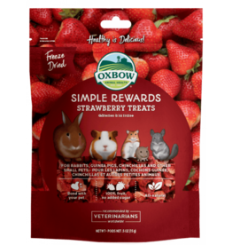 OXBOW Oxbow SimpleRewards Strawberry Treat .5oz