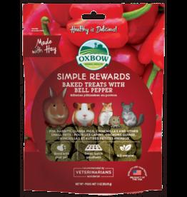 OXBOW Oxbow SimpleRewards Baked Treats Bell Pepper 2oz
