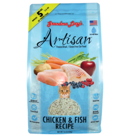Grandma Lucy GL Artisan for CATS - GF Chicken & Fish 1lbs