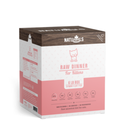 NATURAWLS Naturawls CAT - FROZEN RAW  - Kitten Formula (24x113g)