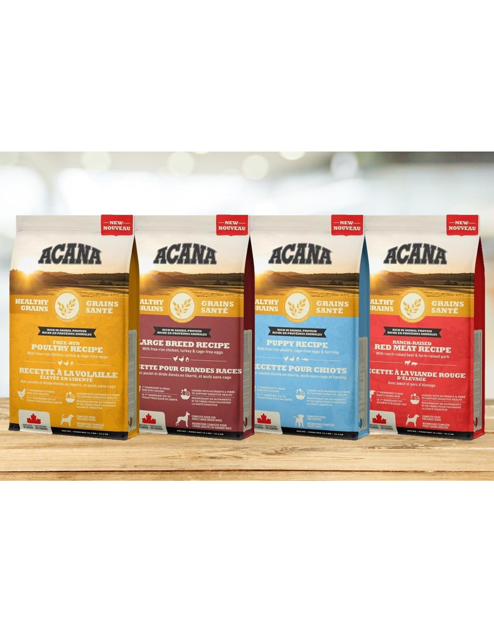 ACANA ACANA HealthyGrains - Ranch-Raised Red Meat Recipe 10.2kg