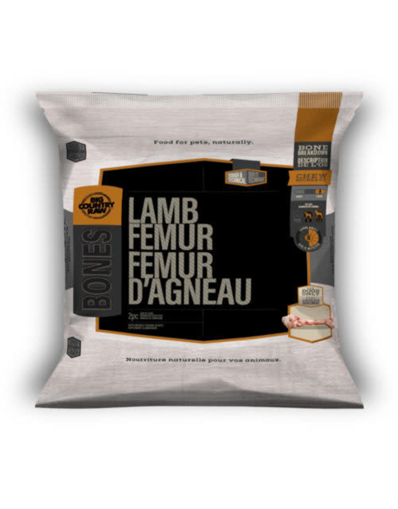 BCR BCR BONES Lamb Femur 2pcs