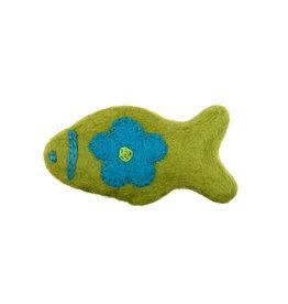 RC PETS RC Pets - WoolyWonkz Woodland - Lime Fish