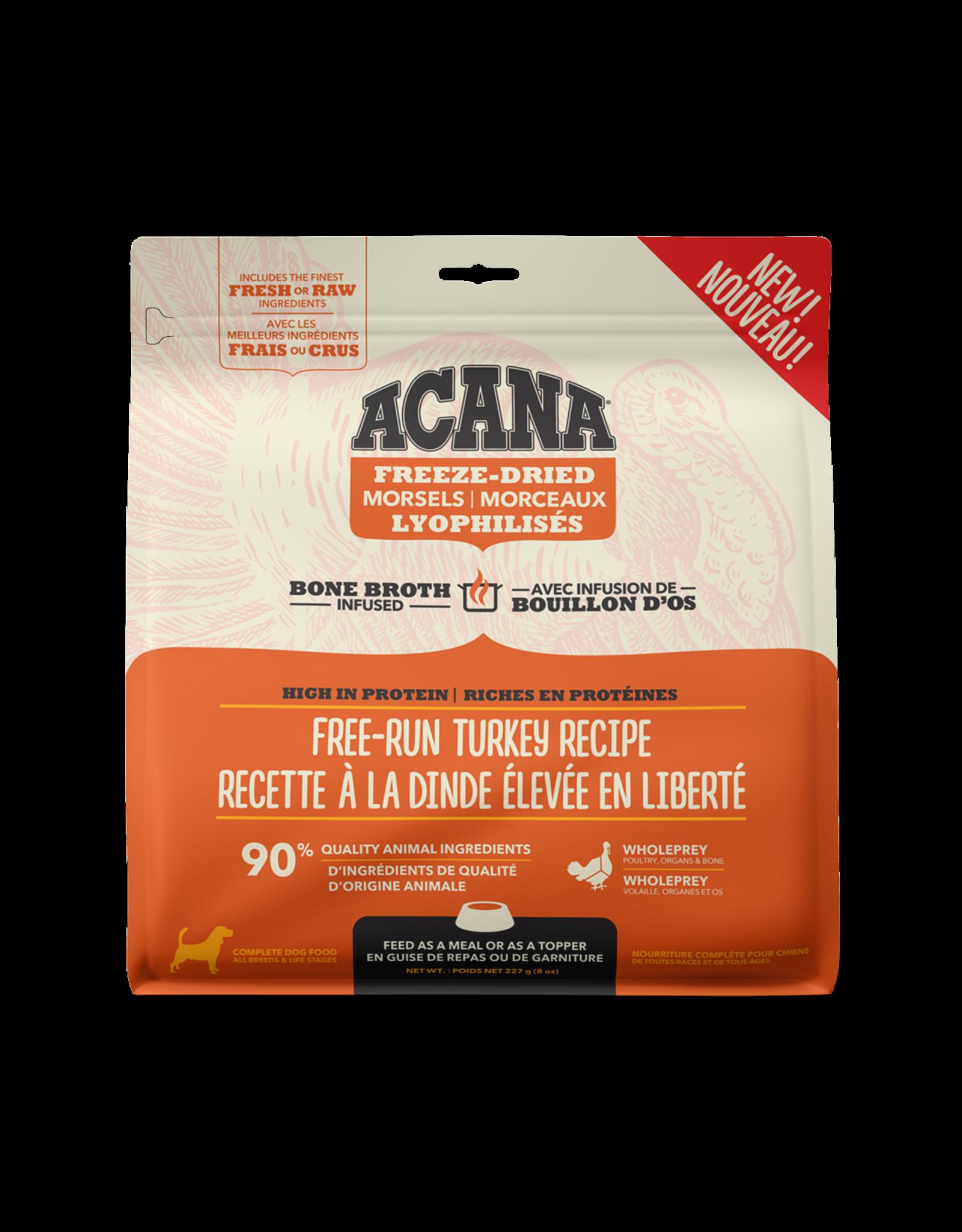 ACANA Acana Freeze-Dried Food - Free-Run Turkey Recipe - Morsels  227g
