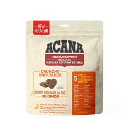 ACANA Acana DOG Biscuits - Crunchy Turkey Liver Recipe 255g  - S/M