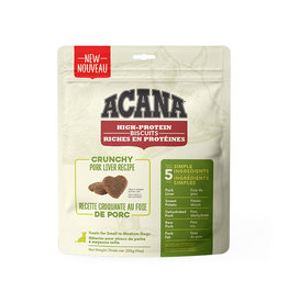 ACANA Acana DOG Biscuits - Crunchy Pork Liver Recipe 255g  - S/M