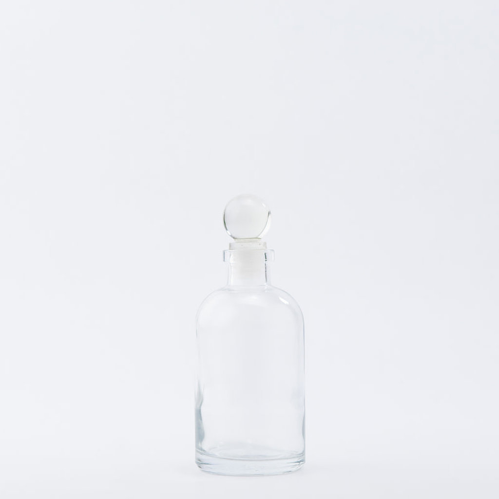 The Refill Shoppe 8 oz Apothecary Bottle / Glass Top