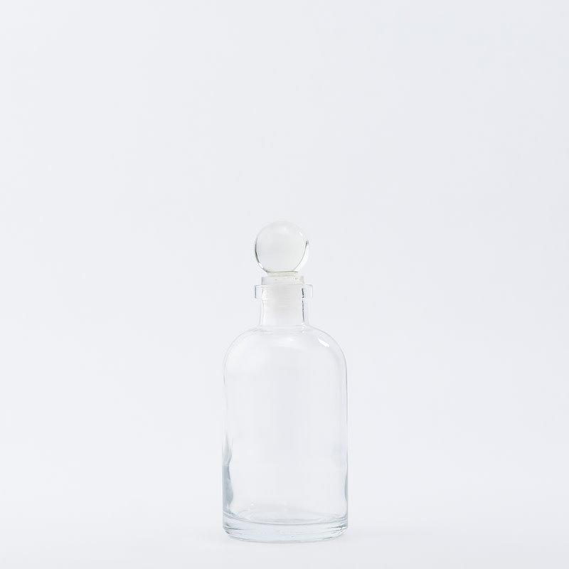 8 oz Apothecary Bottle / Glass Top