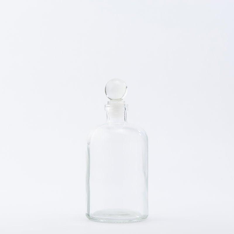 15 oz Apothecary Bottle / Glass Top