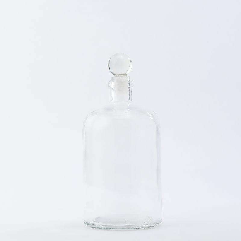 26 oz Apothecary Bottle / Glass Top