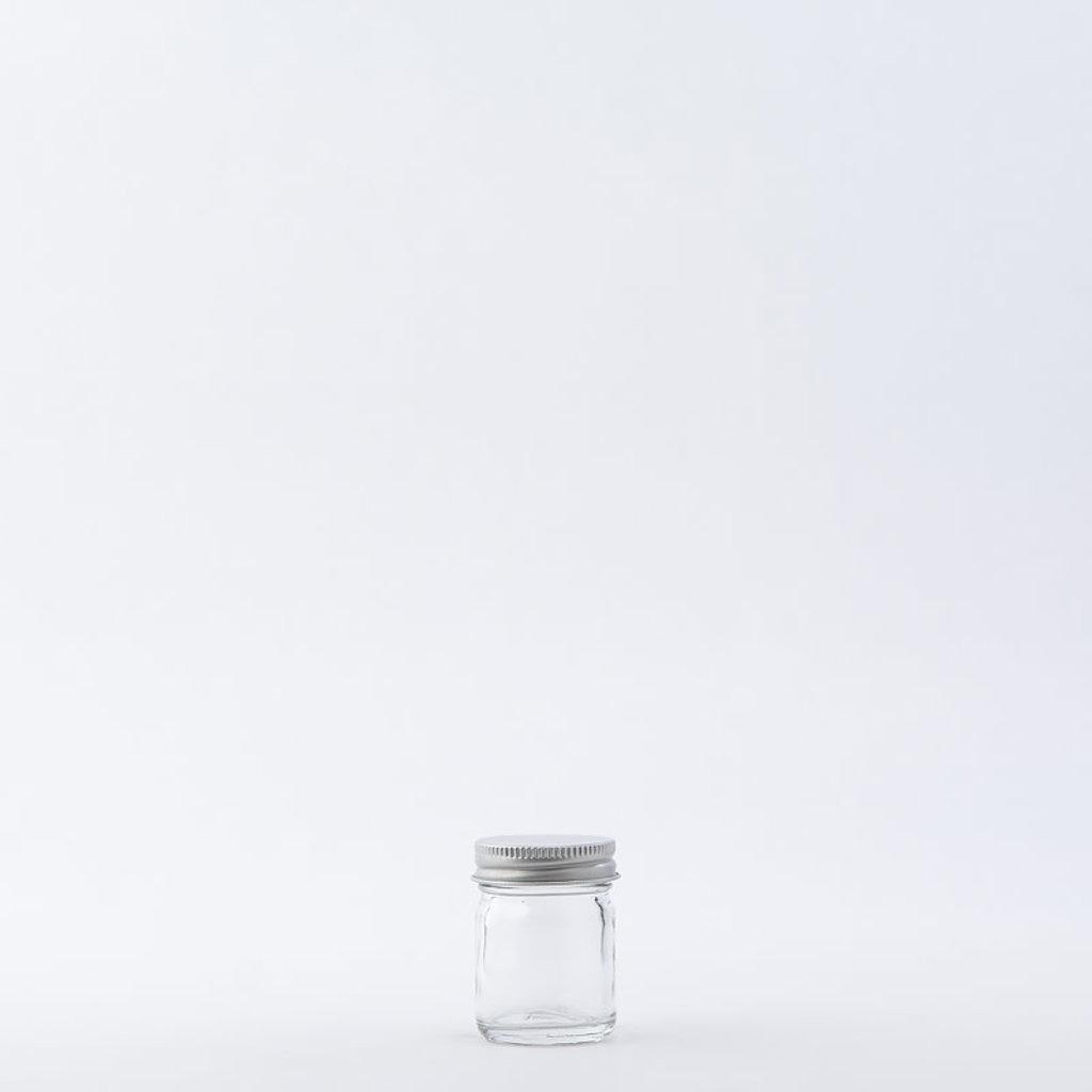 The Refill Shoppe 1 oz Glass Jar / Aluminum Cap