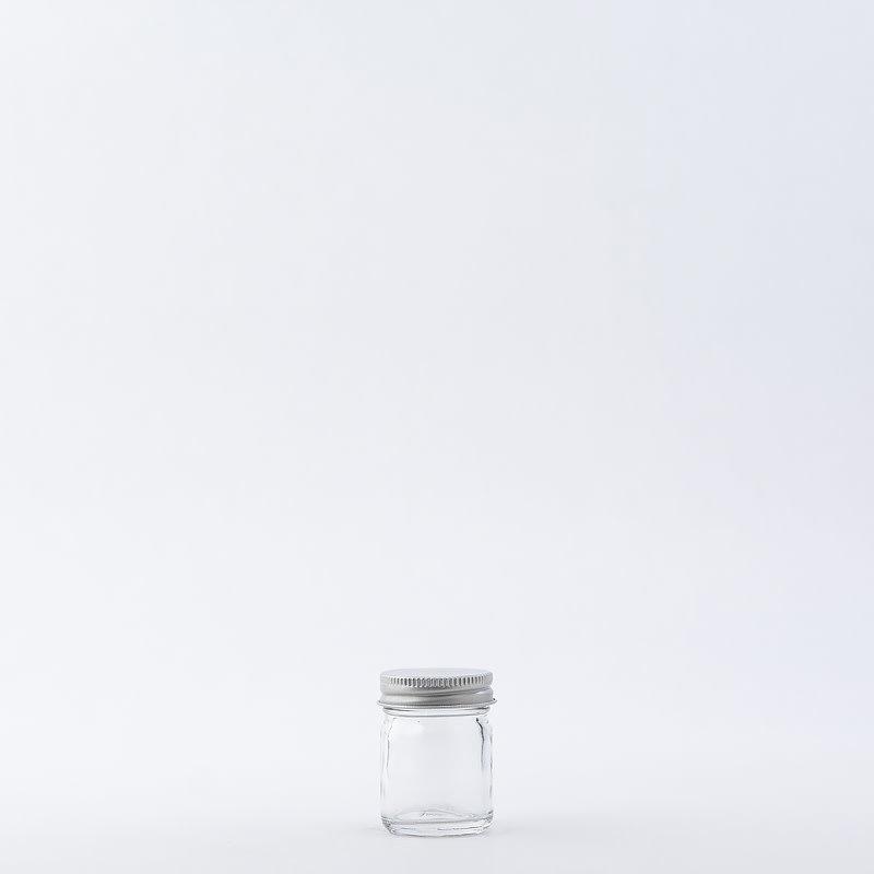 1 oz Glass Jar / Aluminum Cap