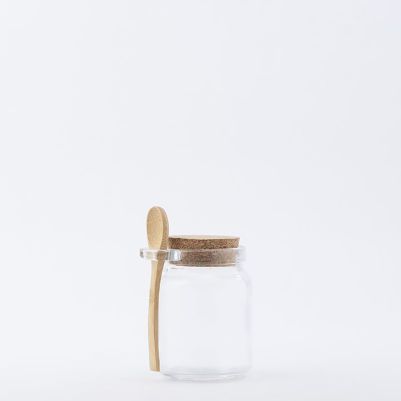 8 oz Recycled Glass Honey Jar