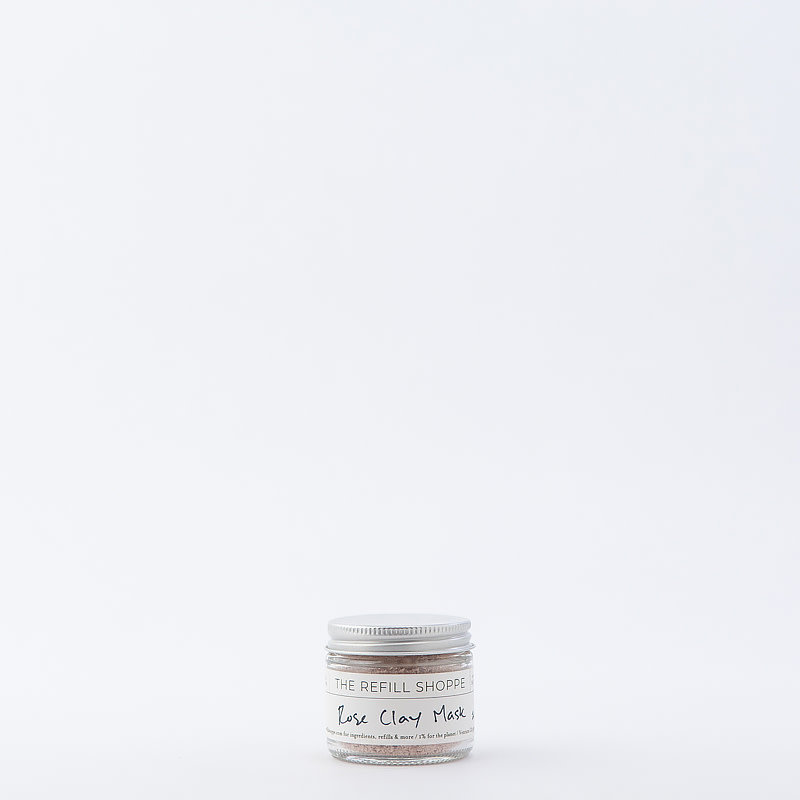 The Refill Shoppe Rose Clay Mask