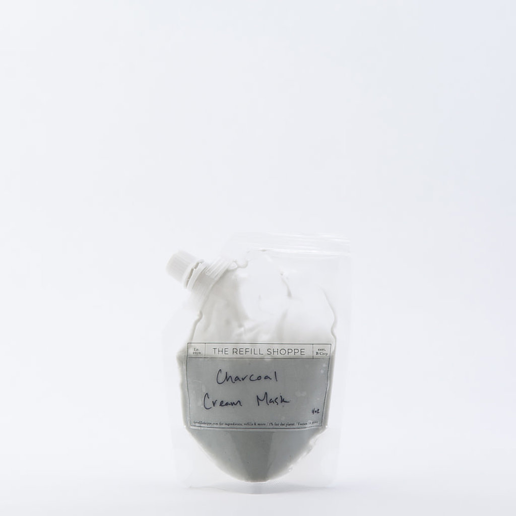 The Refill Shoppe Charcoal Cream Mask