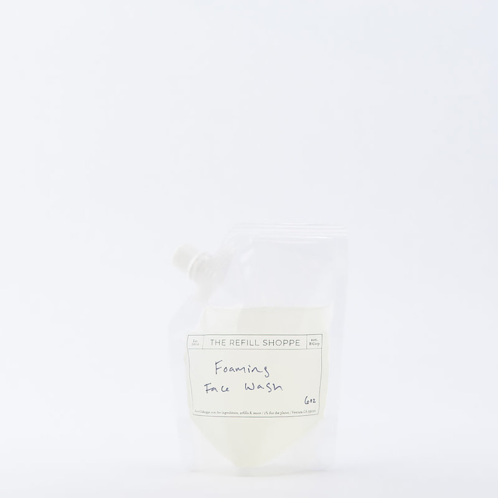 The Refill Shoppe Foaming Face Wash