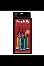 Simplicity Simplicity Synchrony HEPA Bag with SureLock Closure 6/pkg