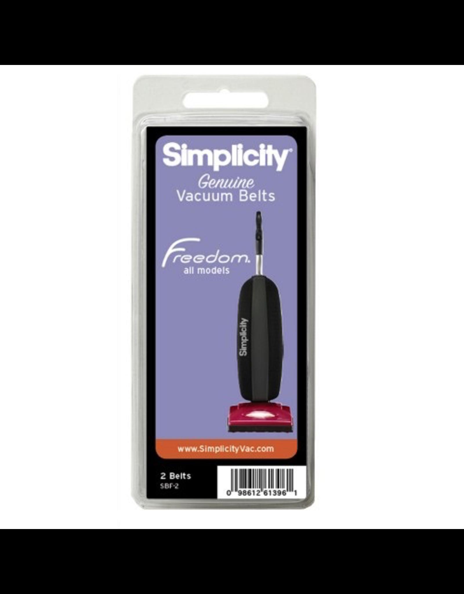 Simplicity Simplicity Freedom & Riccar SupraLite Belt 2/pkg