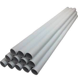 "Vaculine 2"" Tubing - White - per foot (5' Lenghts)"