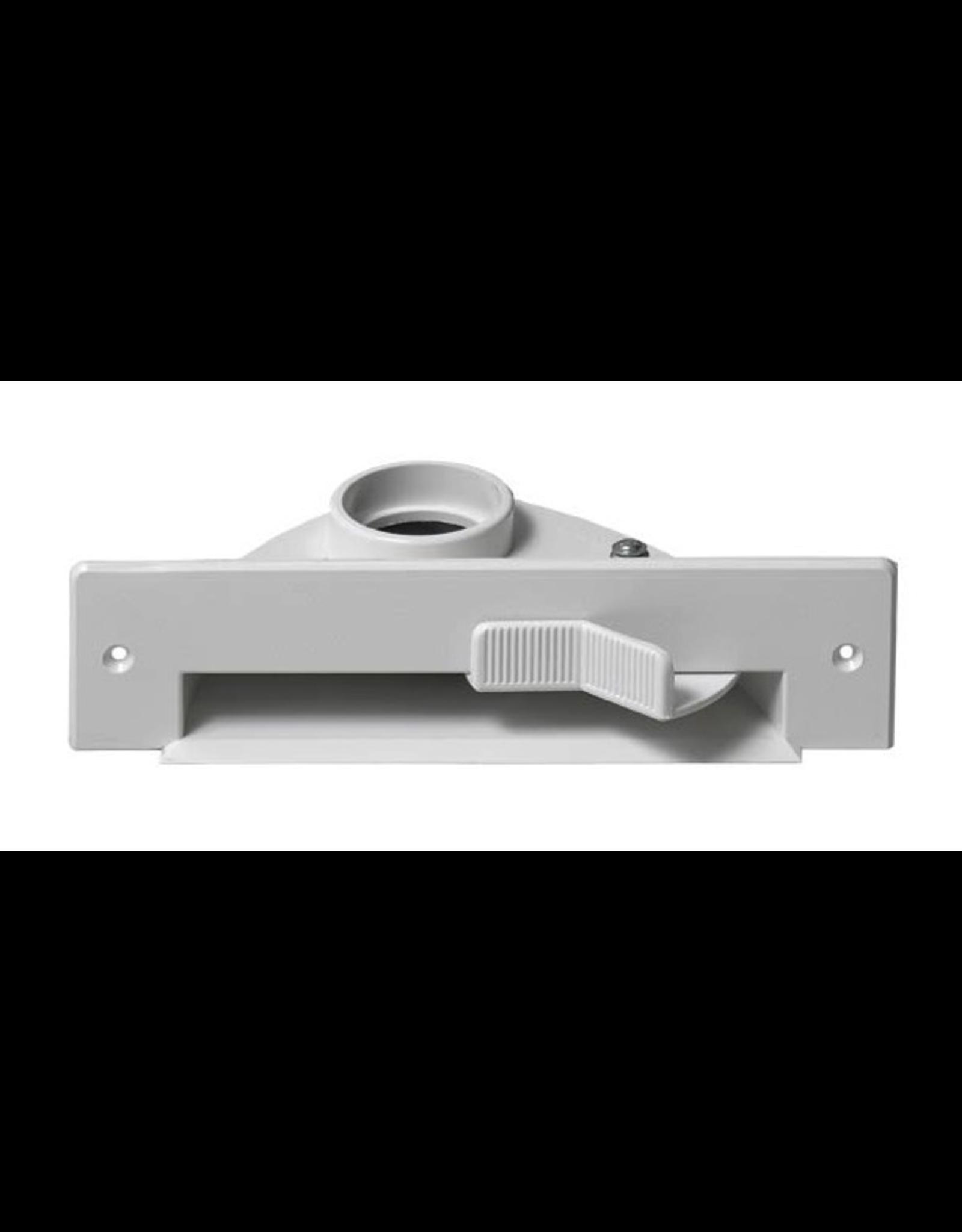Plastiflex VacPan Sweep Inlet - White