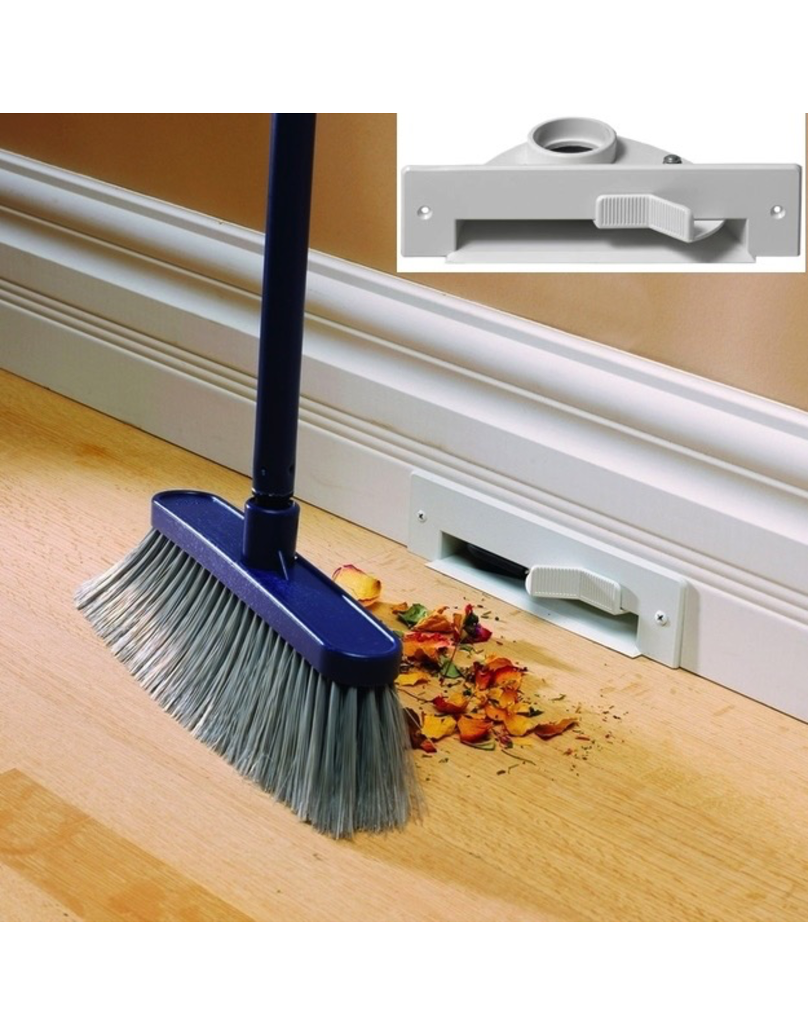 Plastiflex VacPan Sweep Inlet - Almond