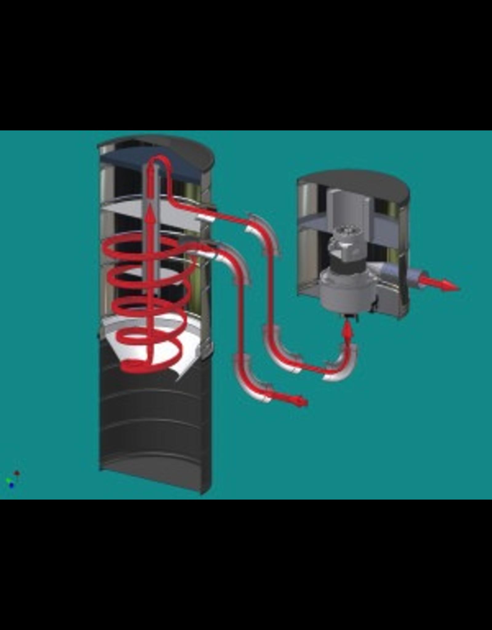 VacuMaid VacuMaid S1660 Cyclonic Power Unit
