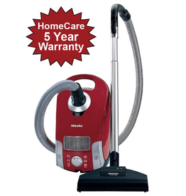 Miele Compact C1 HomeCare Canister Vacuum with Turbo Brush