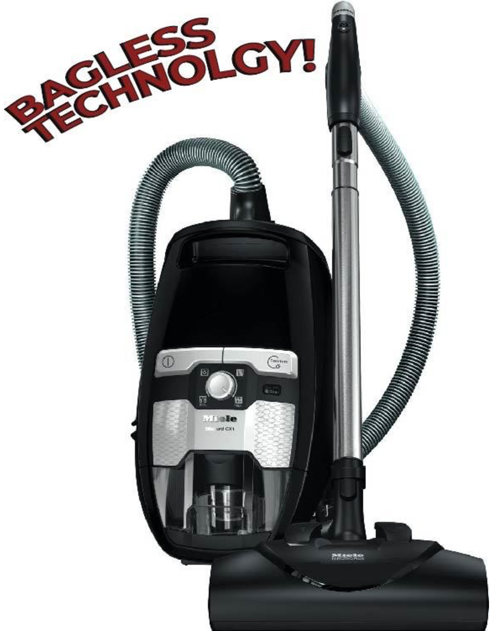 Miele Miele Blizzard CX1 Electro+ Canister Vacuum