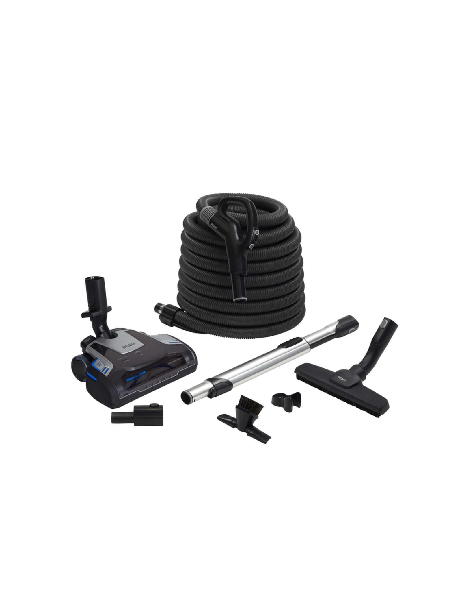 Beam Beam Precision Attachment Set with EZ Grip Handle & 35' Hose