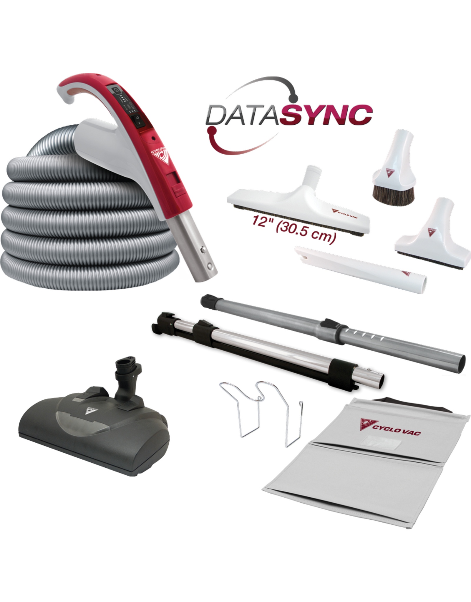 CycloVac CycloVac 30' DataSync Deluxe Accessory Package