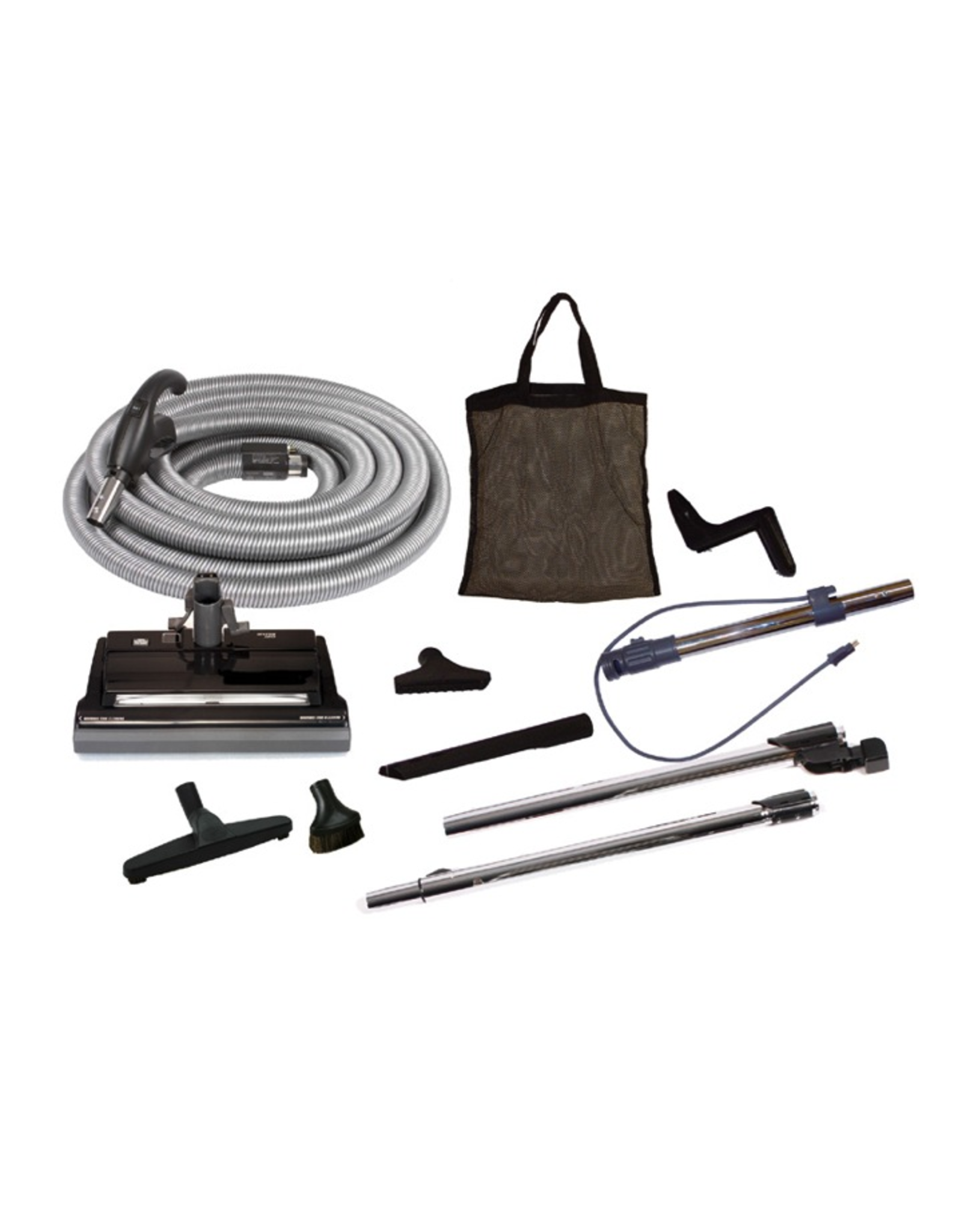 VacuMaid Deluxe Central Vacuum Electric Cleaning Set, Direct Connect, 35'