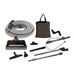 VacuMaid Deluxe Central Vacuum Electric Cleaning Set, Corded, 35'