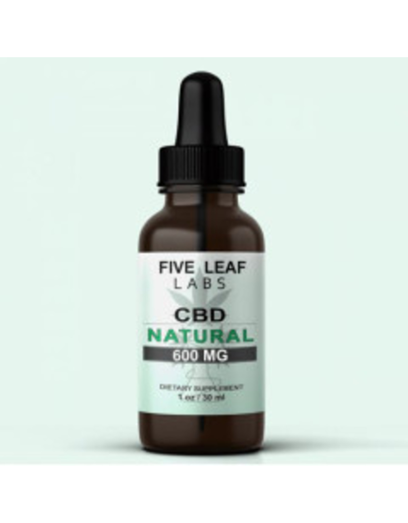 Five Leaf Five Leaf Full Spectrum Tincture Natural 600mg