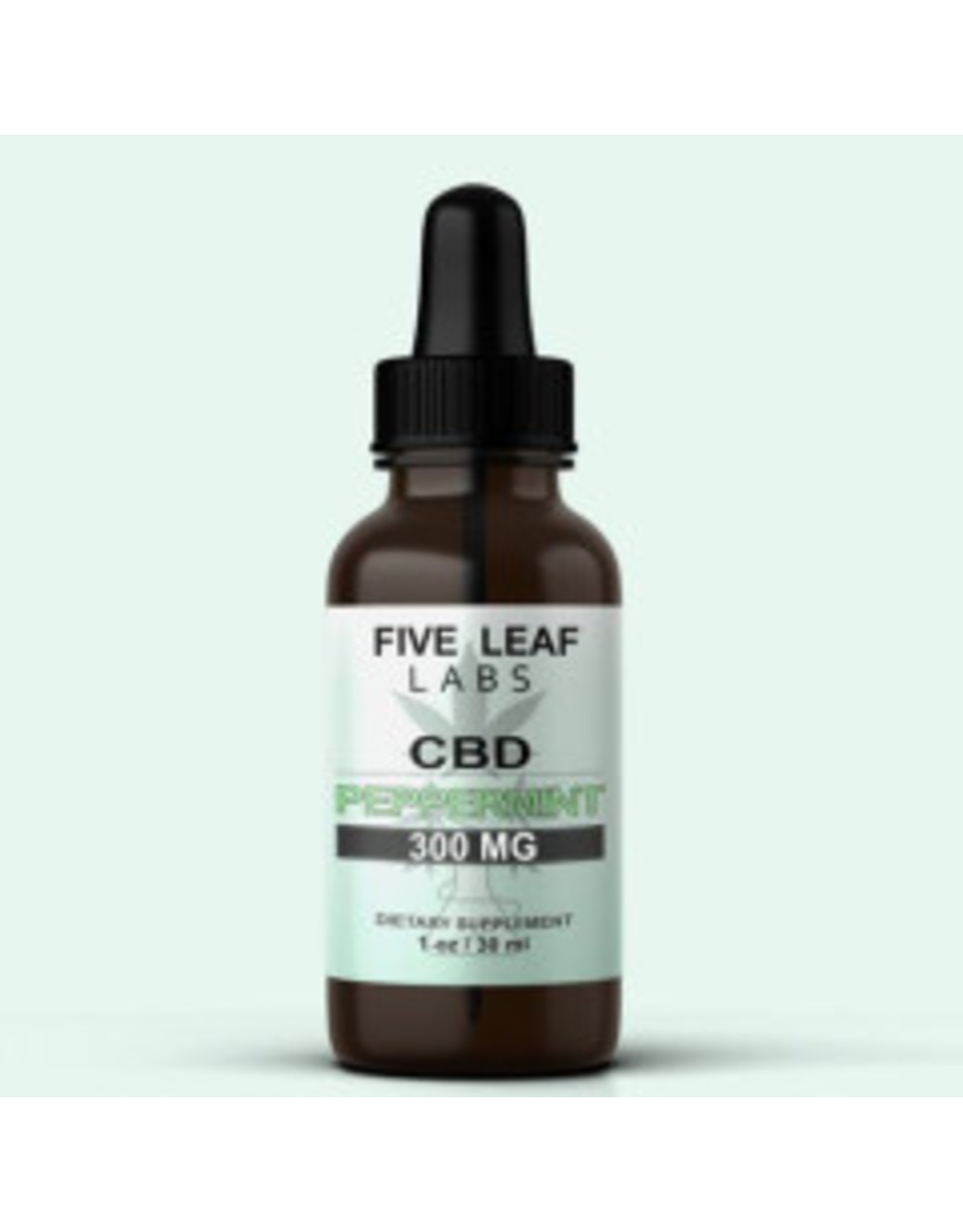 Five Leaf Five Leaf Full Spectrum Tincture Peppermint 300mg