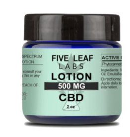 Five Leaf Five Leaf Lotion Natural 500mg