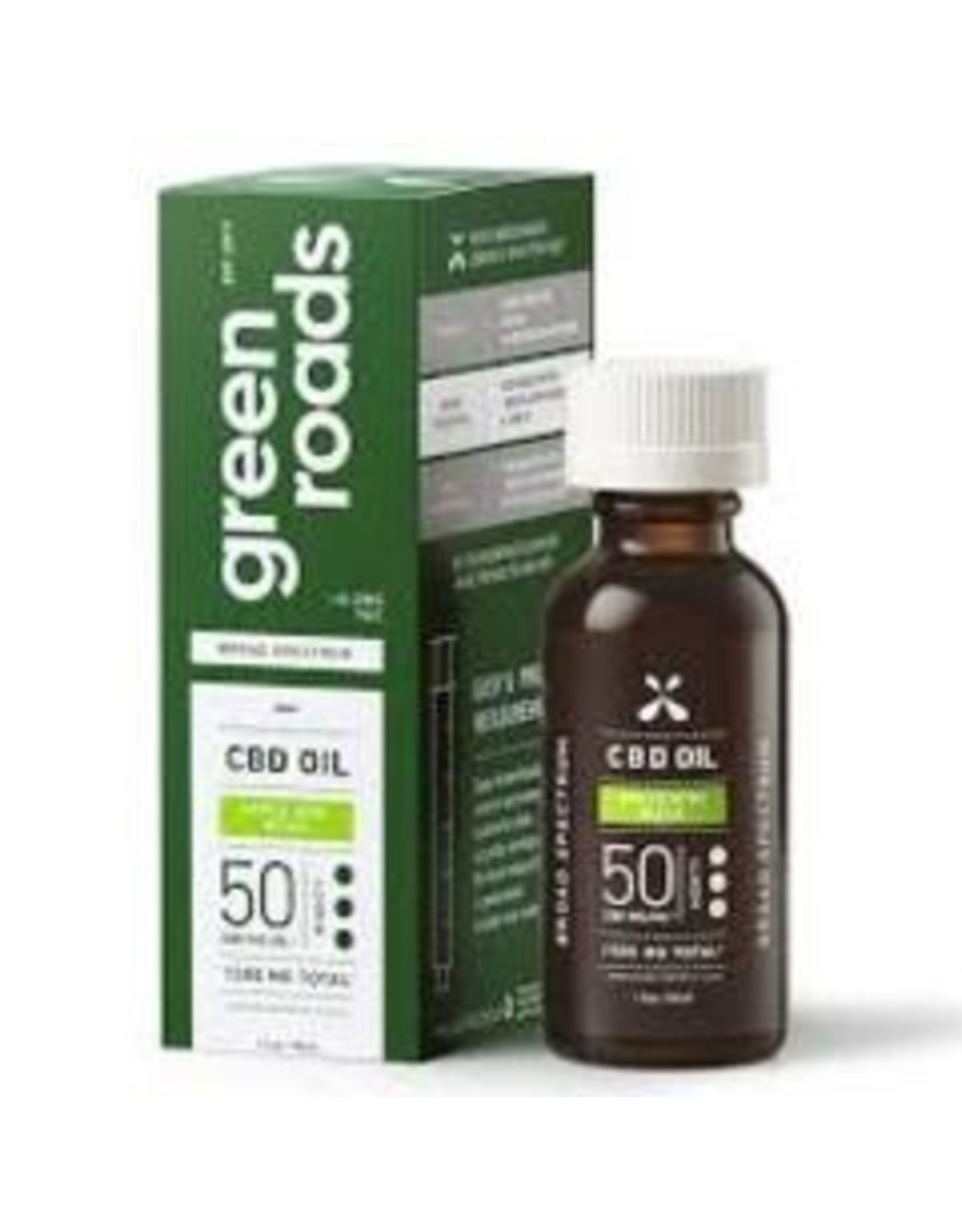 Green Roads GREEN ROADS CBD Broad Spectrum Oil Apple Kiwi Bliss 1500mg
