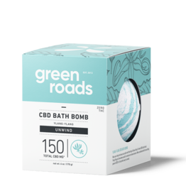 Green Roads GREEN ROADS CBD Bath Bomb Unwind 150mg