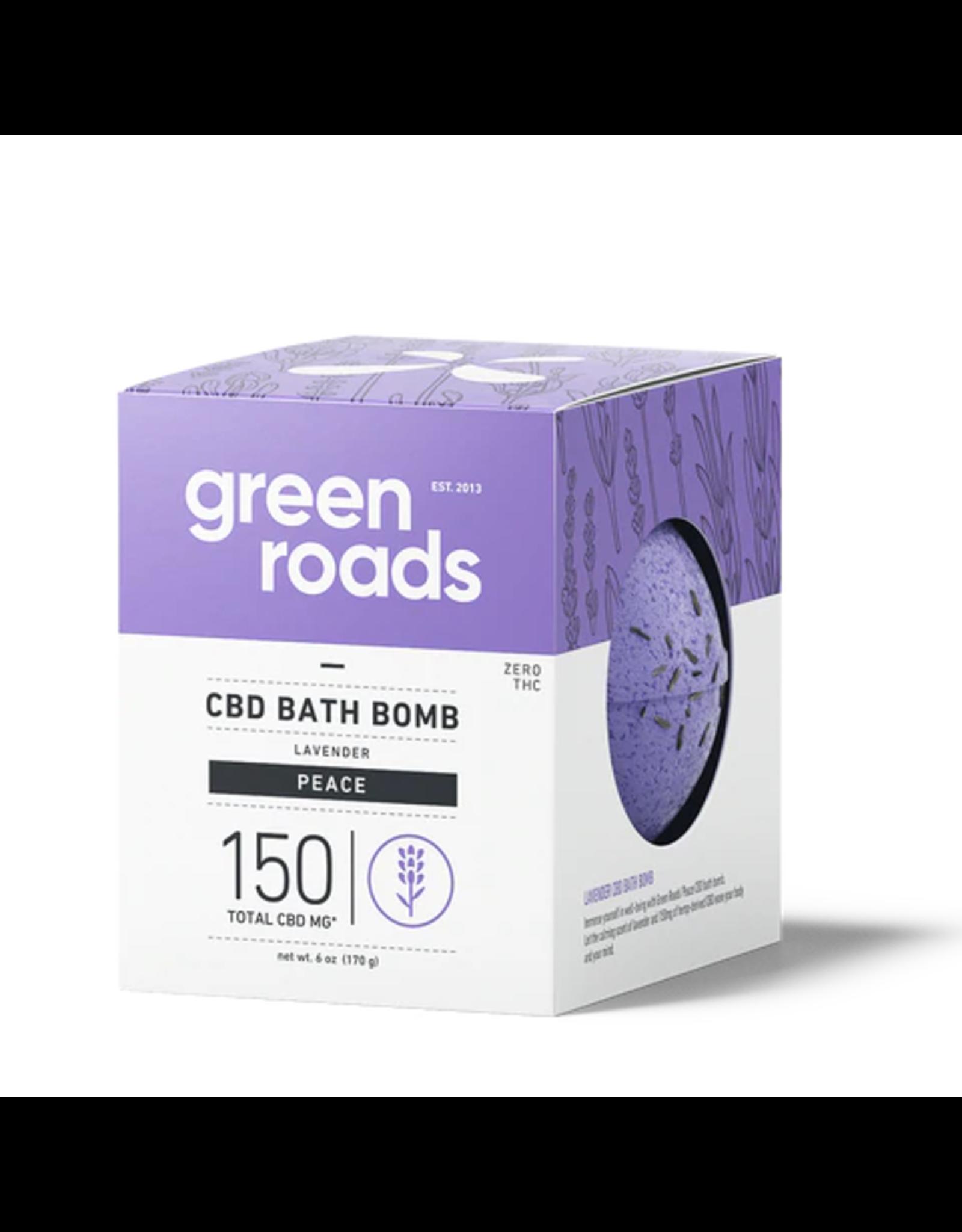 Green Roads GREEN ROADS CBD Bath Bomb Peace 150mg