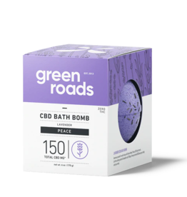 Green Roads GREEN ROADS CBD Bath Bomb Peace 150mg
