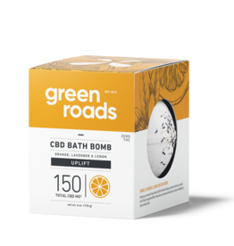 Green Roads GREEN ROADS CBD Bath Bomb Uplift 150mg