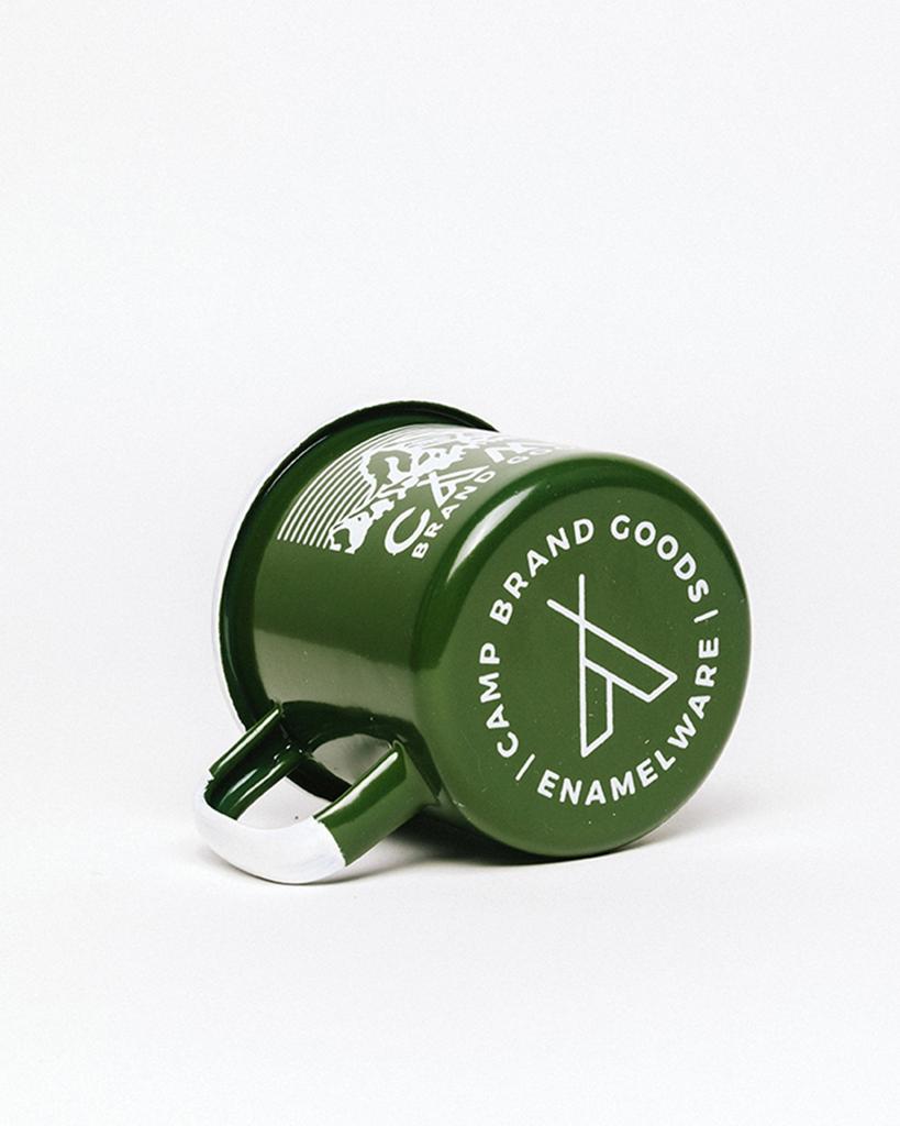 Camp Brand Goods Camp Brand Heritage Logo Enamel Mug