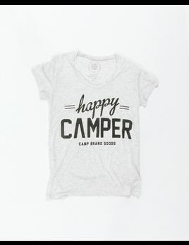 Camp Brand Goods Camp Brand Women's Happy Camper Loose Tee