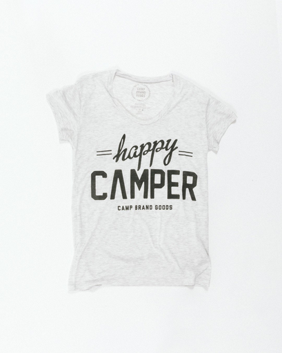 Camp Brand Goods Camp Brand Women's Happy Camper Loose Tee