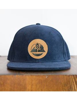 OUTTABOUNDS Outtabounds Mountains to Prairies Hat (Navy Corduroy)