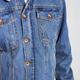Brixton Brixton M's Cable Sherpa Denim Jacket