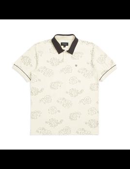 Brixton Brixton Men's Carlos Print S/S Polo Shirt