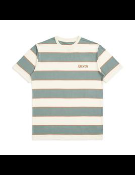 Brixton Brixton Men's Hilt Print S/S Knit Tee