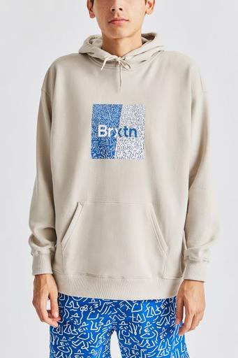 Brixton Brixton Men's Crowd Hooded Fleece