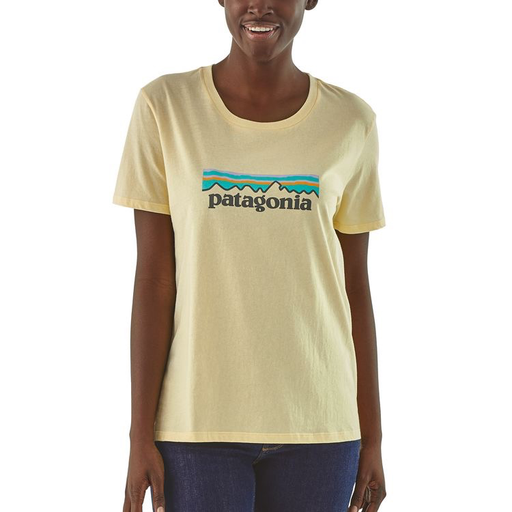 Patagonia Patagonia Women's Pastel P-6 Logo Organic Crew T-Shirt